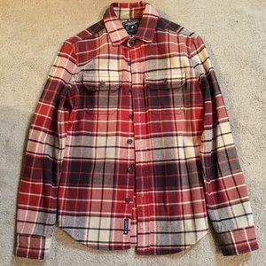 American Eagle Plaid Shirt/Jacket